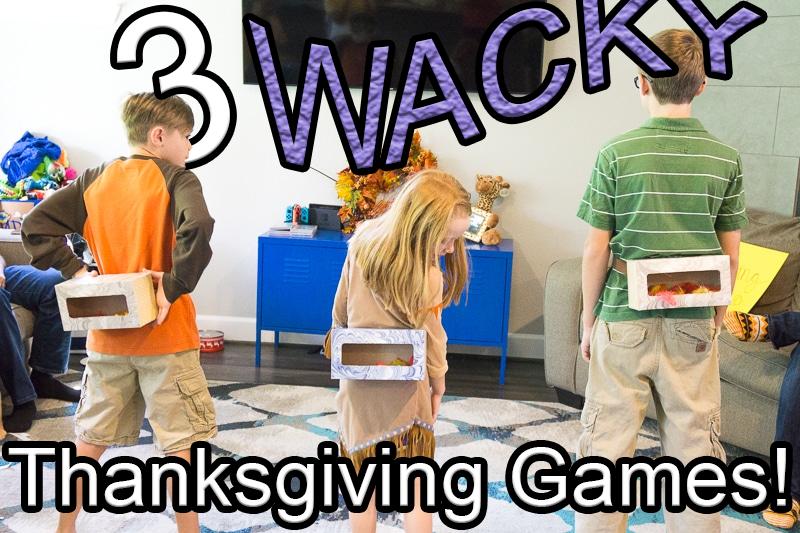 3 Family Fun Thanksgiving Games!